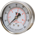 Valley Instrument Grade B Back Mount 2.5in. Dry Gauge — 0-160 PSI The price is $10.99.