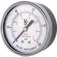 Valley Instrument grade B Back Mount 1.5in. Dry Gauge — 0-100 PSI The price is $7.99.