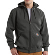 Carhartt Men's Paxton Heavyweight Hooded Zip-Front Sweatshirt - Charcoal, 4XL/Big Style, Model# 100614 The price is $54.99.