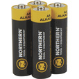 Northern Tool + Equipment AA Alkaline Batteries — 4-Pk. The price is $1.99.