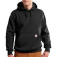 Carhartt Men's Paxton Heavyweight Hooded Sweatshirt - Black, Large, Model# 100615 The price is $44.99.