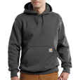 Carhartt Men's Paxton Heavyweight Hooded Sweatshirt - Carbon Heather, Medium, Model# 100615 The price is $44.99.