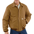 Carhartt Men's Flame-Resistant Duck Bomber Jacket - Brown, Small, Model# 101623 The price is $179.99.
