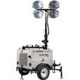Generac Magnum MLT4200IF4 Mobile Light Tower — 20,000 Watts, Isuzu Engine, Manual Winch, Standard Mast, Model# 6977 The price is $21,399.00.