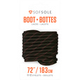 SOFSOLE Boot Laces - 60in., Black/Tan The price is $2.99.