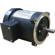 Leeson General Purpose Electric Motor — 1/3 HP, 208–230/460 Volts, 3 Phase, Model# C4T17FC10