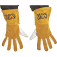 FREE SHIPPING — Gravel Gear TIG Welding Gloves — Large, White and Gold The price is $14.99.