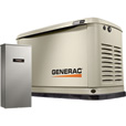 FREE SHIPPING — Generac Guardian Series Air-Cooled Home Standby Generator — 20 kW (LP)/18 kW (NG), 200 Amp Transfer Switch, Model# 7039 The price is $4,597.00.