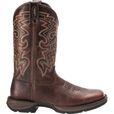 Durango Men's Rebel 11in. Pull-On Western Boots — Dark Chocolate, Size 11 1/2, Model# DB5434 The price is $139.99.