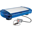 Wolo Outer Limits GEN 3 Low-Profile Mini LED Light Bar — Blue Lens, Model# 3775M-B The price is $339.99.