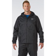 FREE SHIPPING - Gravel Gear Men's Packable Rain Jacket - Black, Medium The price is $49.99.