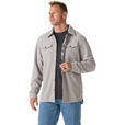FREE SHIPPING — Gravel Gear® Men's 9-Oz. Grid Fleece Shirt Jacket