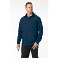 FREE SHIPPING - Gravel Gear Men's Long Sleeve Work Tech Shirt - Navy, XL The price is $27.99.
