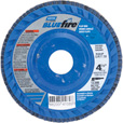 FREE SHIPPING — Norton Bluefire Type 27 Flap Disc — 2-Pk., 4 1/2in. x 7/8in., Zirconia Alumina, 36 Grit The price is $9.99.