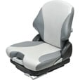 K & M Low-Profile Mechanical Suspension Seat — 2-Tone Gray, Model# 8462 The price is $559.99.