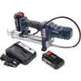 Lincoln PowerLuber Cordless Grease Gun Kit — 12 Volt, 8000 PSI, 2 Batteries, Model# 1264 The price is $199.99.