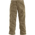 Carhartt Men's Flame-Resistant, Relaxed Fit,  Midweight Canvas Pants — Golden Khaki, 36in. Waist x 34in. Inseam, Regular Style, Model# FRB159 The price is $73.99.