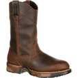 FREE SHIPPING — Rocky Men's Aztec 11in. Waterproof Wellington Work Boot - Brown, Size 12 Wide, Model# 5639 The price is $159.99.