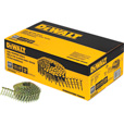 DEWALT 1 1/4in. x 0.120in. Galvanized Coil Roofing Nails —  7200 Nails, Model# DWCR3DGAL The price is $32.99.