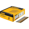 DEWALT 2 3/8in. x 0.113in. 21° Round Head Galvanized Nails  — 2000 Nails, Model# DWRHS8DR113G The price is $39.99.