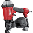 Milwaukee Air-Powered 1 3/4in. Coil Roofing Nailer, Model# 7220-20 The price is $249.00.