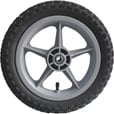 Ironton 12in. Pneumatic Plastic Spoked Wheel The price is $16.99.