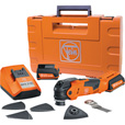 FREE SHIPPING — Fein Lithium-Ion Cordless MultiTalent Oscillating Tool — 12 Volt, 18,000 OPM, Model# AFMT 12QSL