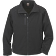 FREE SHIPPING - Gravel Gear Men's Double Weave Insulated Ripstop Softshell Jacket - Black, 2XL The price is $50.00.