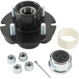 Ultra-Tow XTP Ultra-Pack Trailer Hub —  4 on 4in. 1250 lb. Capacity The price is $42.99.