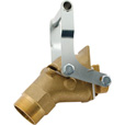 Vestil Manual Jumbo Brass Drum Faucet — Model# JDFT-B The price is $109.99.