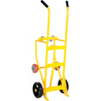 Vestil Drum Truck/Cradle with Mold-On Rubber Wheels — 1000-Lb. Capacity, Model# RDBT-MR The price is $289.99.