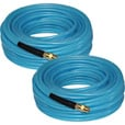 Grip PVC Air Hose — 2-Pk., 1/4in. x 100ft., 300 PSI, Model# 12731 The price is $37.99.