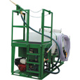 Turbo Turf Paddle-Agitated Hydroseeding Unit — 500-Gallon Capacity, Model# HM-500-T The price is $9,995.00.