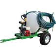 Turbo Turf Pull-Type Jet Hydroseeding Unit — 100-Gallon Capacity, Model# HS-100-P The price is $2,595.00.