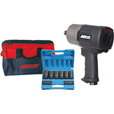 Aircat Super Duty Air Impact Wrench Kit — 3/4in. Drive, 8 CFM, 1400 Ft.-Lbs. Torque, Model 1770-XLK The price is $469.99.