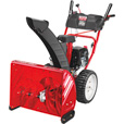 FREE SHIPPING — Troy-Bilt 2-Stage Electric Start Snow Blower with Airless Tires — 24in., 208cc Engine, Model# 31AM6BO2766
