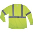 Forester Men's Class 2 High Visibility Long Sleeve T-Shirt — Lime, Large The price is $7.99.