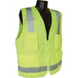 Radians Men's Class 2 High Visibility Surveyor Safety Vest — Lime, Model# SV7G