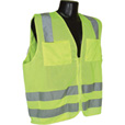 Radians Men's Class 2 High Visibility Mesh Zip-Front Safety Vest — Model# SV8GM