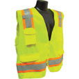 Radians RadWear Men's Class 2 High Visibility Two-Tone Surveyor Safety Vest — Lime, XL, Model# SV6G The price is $16.99.