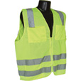 Radians Men's Class 3 High Visibility Mesh Safety Vest — Lime, Medium, Model# SV83GM The price is $16.99.