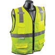 Radians Men's Class 2 Economy Surveyor Safety Vest — Lime, L/XL, Model# SV7E-2ZGM The price is $9.99.