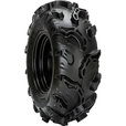 Carlisle Black Rock Tubeless ATV Replacement Tire — 25 x 8-12 NHS, 1020-Lb. Capacity, 24.8in. O.D., Mud & Snow, Model# 6P0224 The price is $84.99.