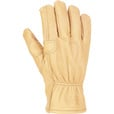 FREE SHIPPING — Gravel Gear Men's Insulated Cowhide Work Gloves with Thinsulate — Brown, XL The price is $39.99.