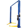 FREE SHIPPING — Forward Lift 2-Post Extra Low Ceiling Truck Lift — 12,000 Lb. Capacity, 143in. Extra-Low Ceiling Height, Blue, Model# F12N303BL