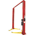 FREE SHIPPING — Forward Lift 2-Post Truck Lift — 12,000-Lb. Capacity, 154in. Low Ceiling Height, Red, Model# F12N302RD The price is $4,499.99.