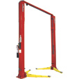 FREE SHIPPING — Forward Lift Heavy-Duty 2-Post Truck Lift — 12,000-Lb. Capacity, 166in. Standard Height, Red, Model# I12N300RD
