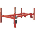 FREE SHIPPING — Rotary Lifts 4-Post Closed Front Truck and Car Lift — 14,000-Lb. Capacity, 182in. Wheelbase, Red, Model SM14N101YRD