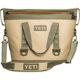 Yeti Hopper Two Cooler — Field Tan, 25in.L x 12in.W x 18in.H The price is $349.99.