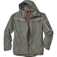 FREE SHIPPING - Gravel Gear Men's Waterproof Breathable Midweight Rain Jacket - Granite, Large The price is $74.99.